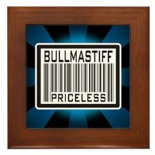 Bullmastiff - Priceless Framed Tile