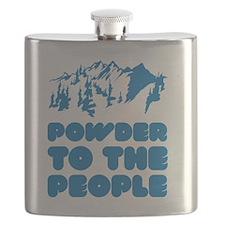 snowboPowder3 Flask