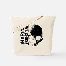 IN-GRIND-WE-CRUST-3-B-on-W Tote Bag