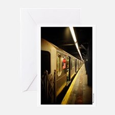 """""""Chamber Street Station"""" Greeting Cards (Package o"""