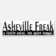 Asheville Freak Bumper Bumper Sticker