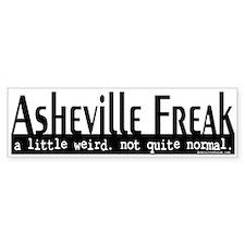 Asheville Freak Bumper Sticker