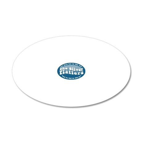 silver-platters 20x12 Oval Wall Decal