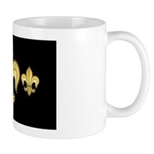 FleurWDgoldbBeBag Mug