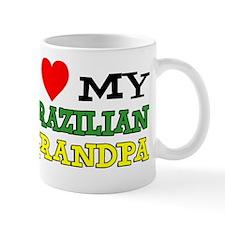 I Love Brazilian Grandpa Mug