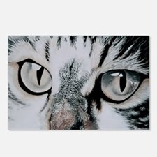 Cats Eyes Postcards (Package of 8)