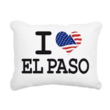 I LOVE EL PASO Rectangular Canvas Pillow