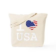 I LOVE USA - FLAG Tote Bag