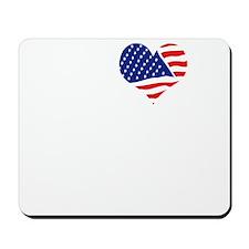 I LOVE SAN ANTONIO - white Mousepad