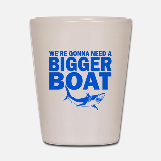 BiggerBoatJaws Shot Glass