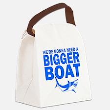 BiggerBoatJaws Canvas Lunch Bag
