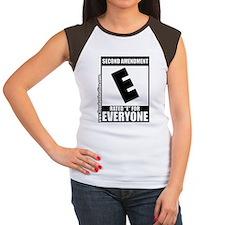 SecondAmendment10x10lrg Women's Cap Sleeve T-Shirt