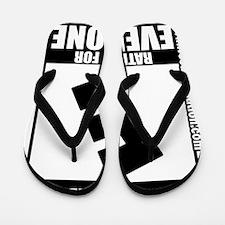 SecondAmendment10x10lrg Flip Flops