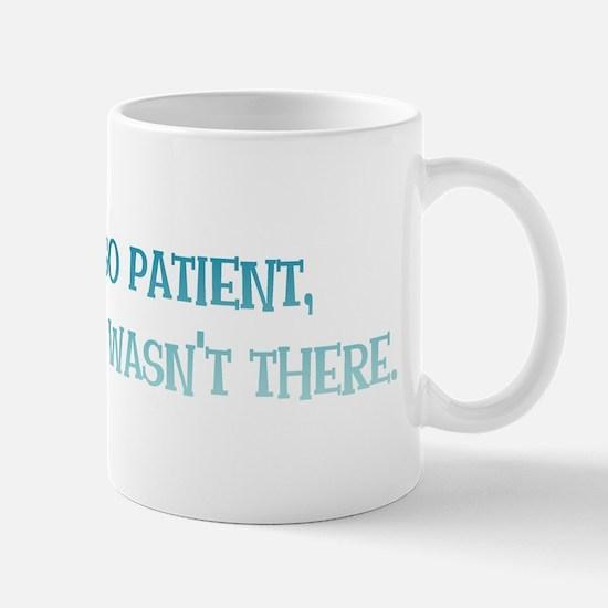 God is So Patient Mug