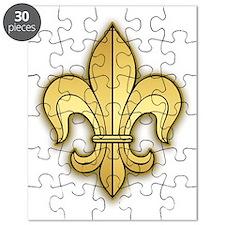 FleurWDgoldSshTr Puzzle