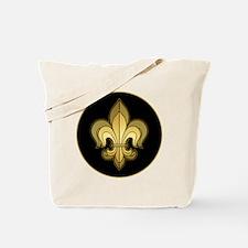 FleurWDgoldRbTR Tote Bag