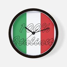 100% Italian Wall Clock
