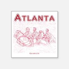 """Atlanta_10x10_StoneMountain Square Sticker 3"""" x 3"""""""