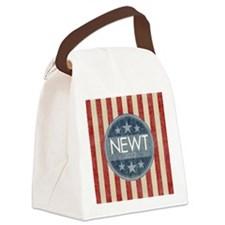 weathered-circle_newt_05 Canvas Lunch Bag