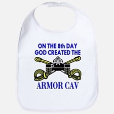 8th Day God Created Armor Cav Bib