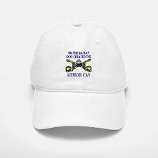 8th Day God Created Armor Cav Baseball Baseball Cap
