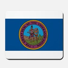 Chickasaw Flag Mousepad