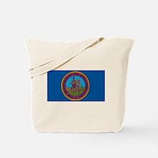 Chickasaw Flag Tote Bag