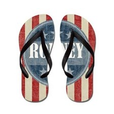 Romney - antique version Flip Flops