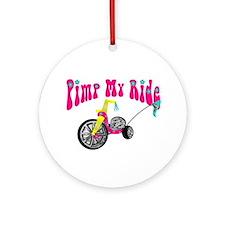 Pimp Her Ride Ornament (Round)