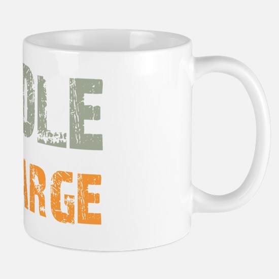 inchargelabradoodle_black Mug