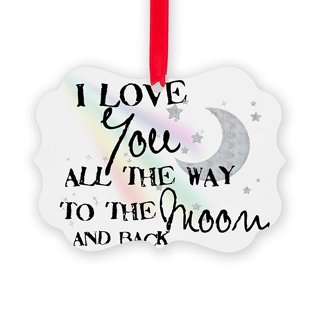 moon Picture Ornament