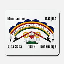 Cheyenne River Sioux Flag Mousepad