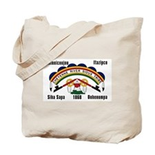 Cheyenne River Sioux Flag Tote Bag