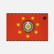 Cherokee Nation Oklahoma Rectangle Magnet