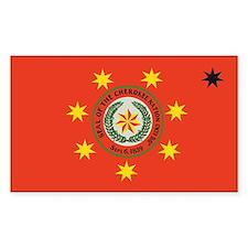 Cherokee Nation Oklahoma Rectangle Decal