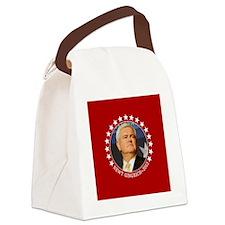 button_newt_photo_06 Canvas Lunch Bag