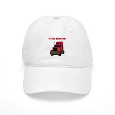 Semi Truck Birthday Baseball Cap