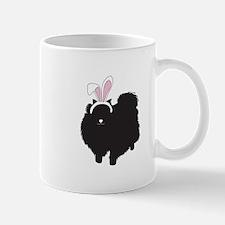 Pomeranian Bunny Mug