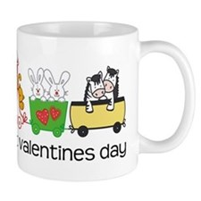 my 1st valentines day train Mug
