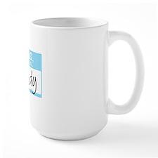 HelloMyNameIs...Brady Mug