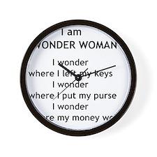 wonderwoman2 Wall Clock