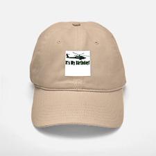 Army Helicopter Birthday Baseball Baseball Cap