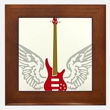 Bass Guitar 07-2011 B 3c Framed Tile