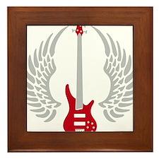 Bass Guitar 07-2011 A 2c Framed Tile