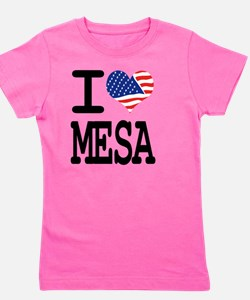 I LOVE MADESA Girl's Tee