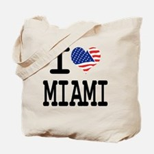 I LOVE MIAMI Tote Bag