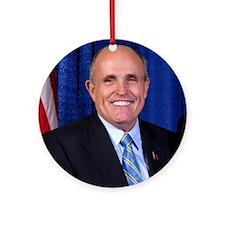Cute Giuliani Ornament (Round)