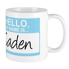 HelloMyNameIs...Caden Mug