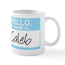 HelloMyNameIs...Caleb Mug
