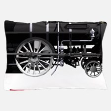 I LOVE TRAINS RED copy Pillow Case